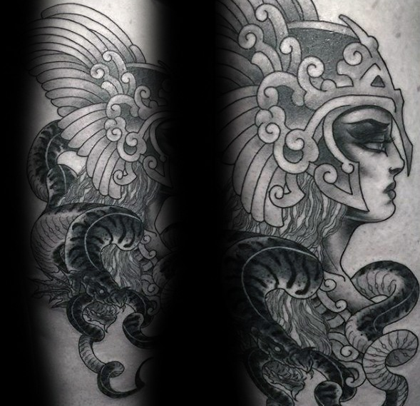 Valkyrie Tattoos Designs & Idea For Men's And Women's 0030