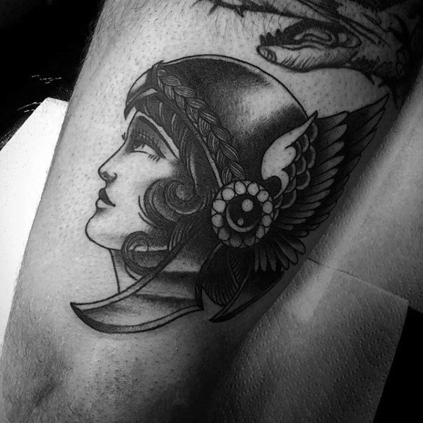Valkyrie Tattoos Designs & Idea For Men's And Women's 0033