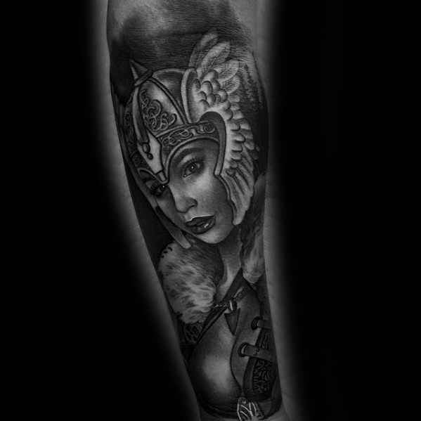 Valkyrie Tattoos Designs & Idea For Men's And Women's 0038