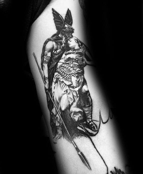 Valkyrie Tattoos Designs & Idea For Men's And Women's 0042