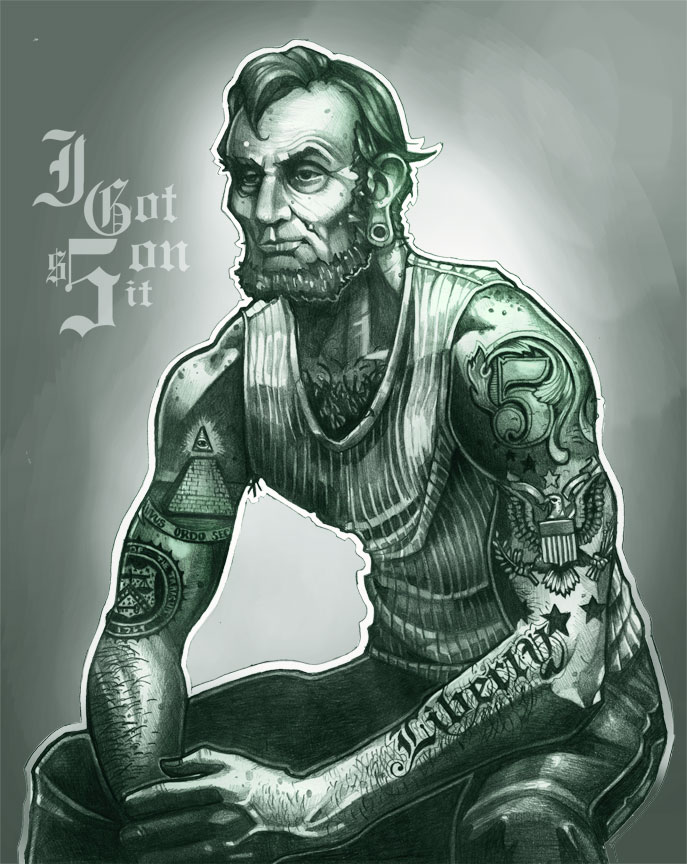 Abraham Lincoln Tattoos