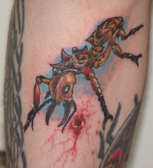 Ant Tattoos Idea Design for Tattoos Lover 05