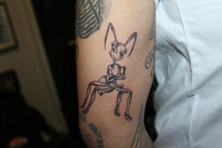 Ant Tattoos Idea Design for Tattoos Lover 48