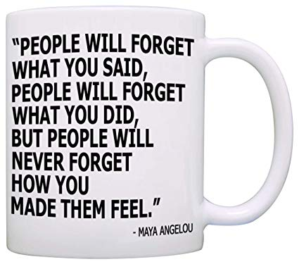 Appreciation Quotes people will forget what you said