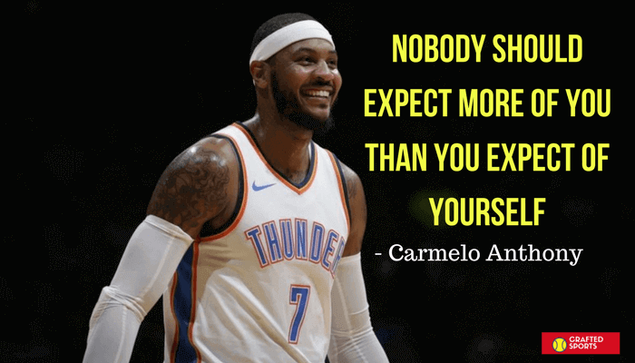 Basketball quotes no body should expect more of you