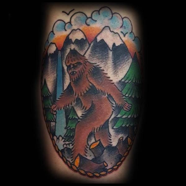 Bigfoot Tattoos 0196