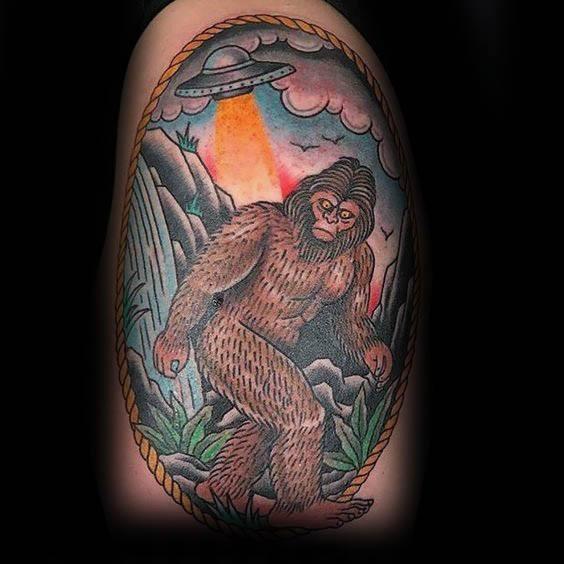 Bigfoot Tattoos 0198