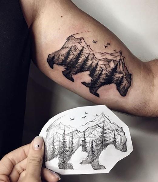 Bigfoot Tattoos 0208