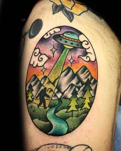 Bigfoot Tattoos 0225