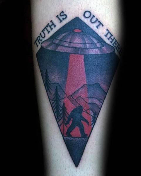 Bigfoot Tattoos 0235