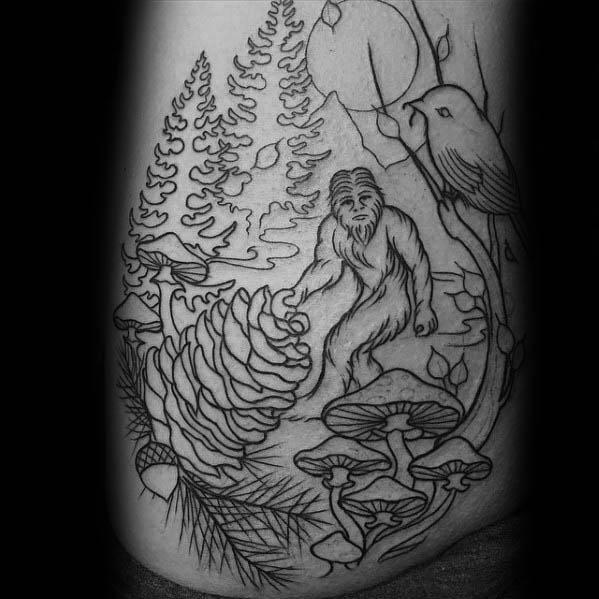 Bigfoot Tattoos 0236