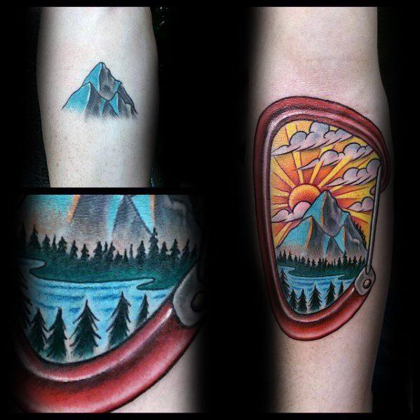Climbing Tattoos Idea Designs for Tattoos Lover 15