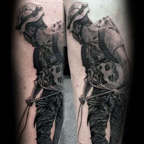 Climbing Tattoos Idea Designs for Tattoos Lover 30