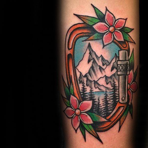 Climbing Tattoos Idea Designs for Tattoos Lover 41