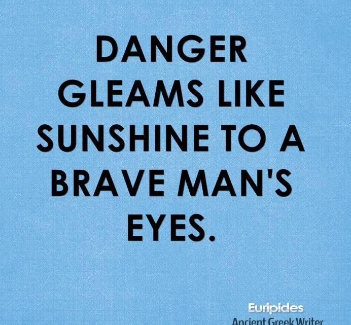 Elegant Danger Quotes