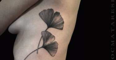 Ginkgo Leaf Tattoos