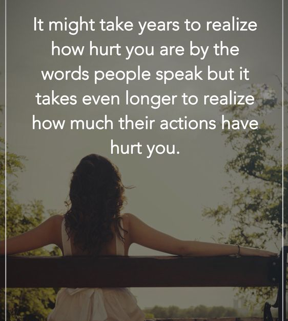 Hurt quotes it might take years to realize how hurt you are by the words people speak but it takes even longer to realize how much
