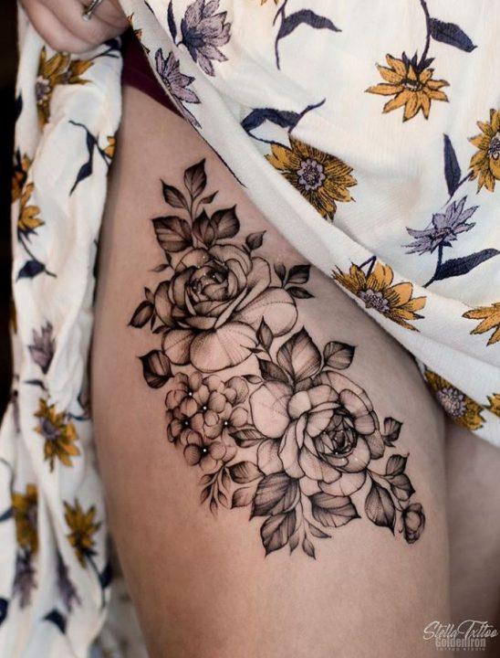 Hydrangea Tattoos And Hydrangea Tattoo For Boys & Girls 13