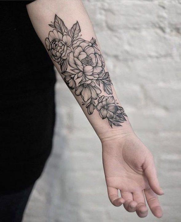 Marvelous Flower Tattoos