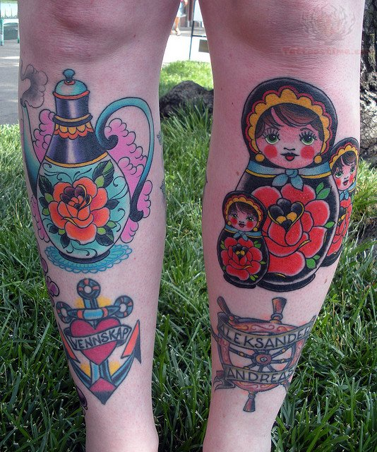 Matryoshka Tattoos
