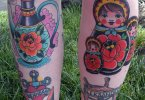 Matryoshka Tattoos