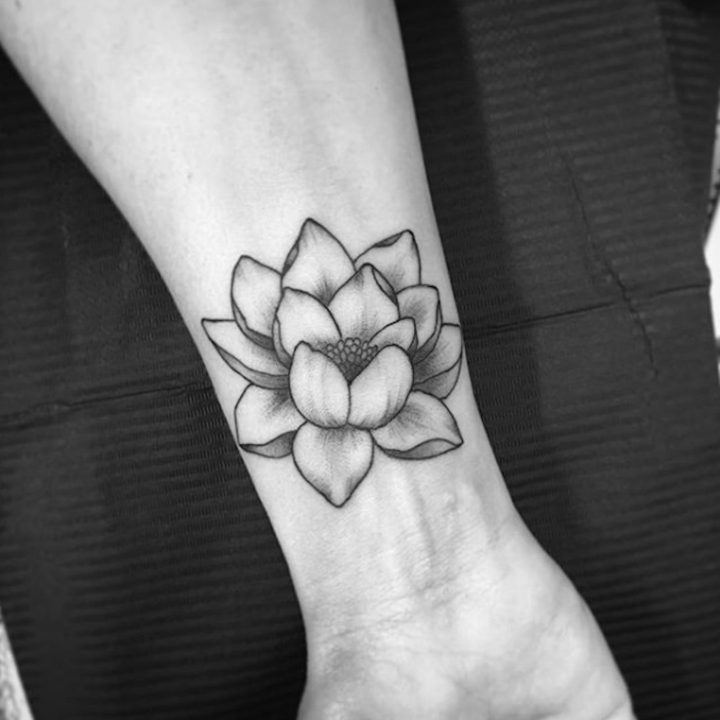 Motivational Flower Tattoos