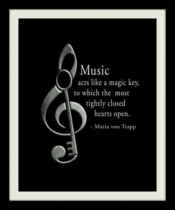 Music Quotes music acts like a magic key,