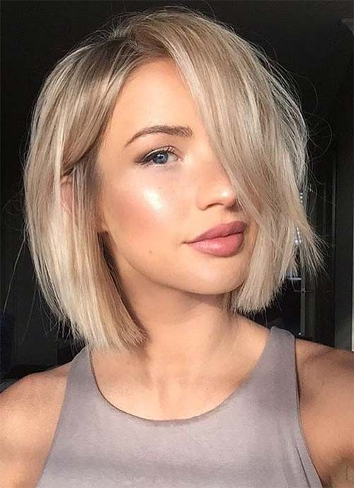 Short Hair Styles Design Idea for Women & Girls 0013
