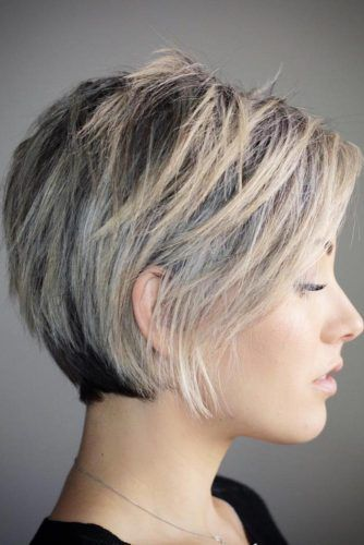 Short Hair Styles Design Idea for Women & Girls 0032
