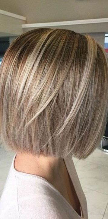 Short Hair Styles Design Idea for Women & Girls 0037