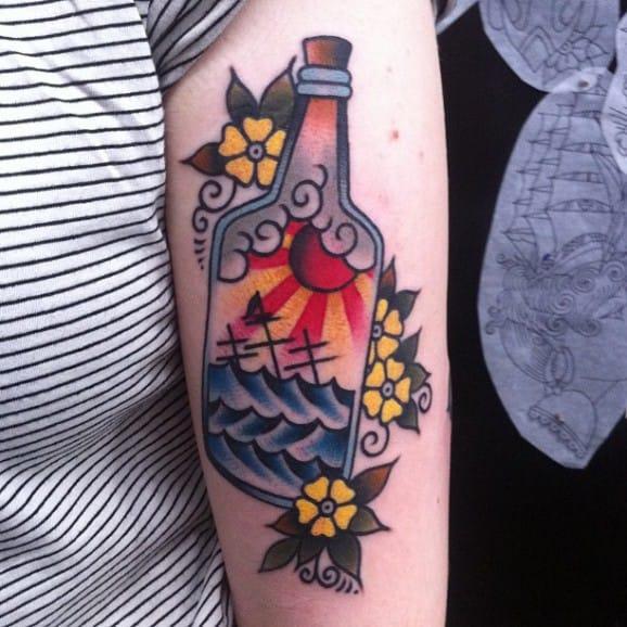 Sinking Ship Tattoos