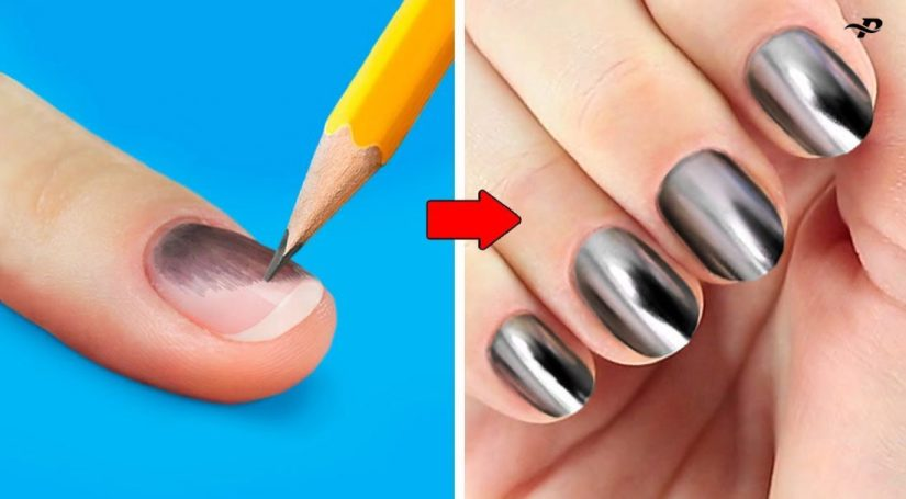 Trendy Nail Art Images & Pictures