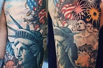 USA Patriotic Tattoos