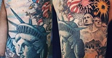 USA Patriotic Tattoos