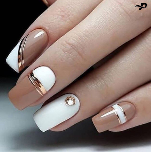 White Nail Art Ideas, Designs, Images & Pictures