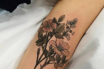 26 Nature Inspired Neo Traditional Tattoos by Sophia Baughan
