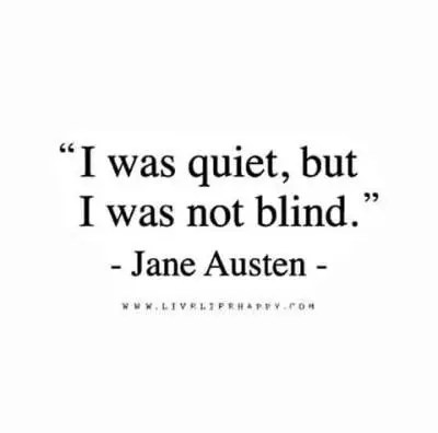 Cheating Quotes & Sayings i was quiet, but i was not blind