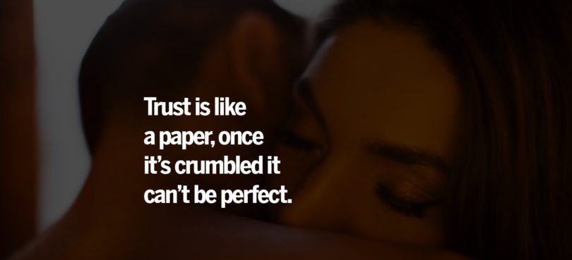 Cheating Quotes & Sayings trust like a paper, once it's
