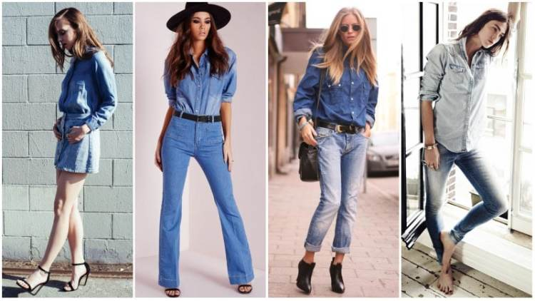 Denim Outfit Styles For Women's 26