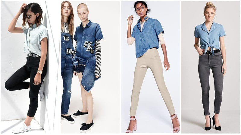 Denim Outfit Styles For Women's 49