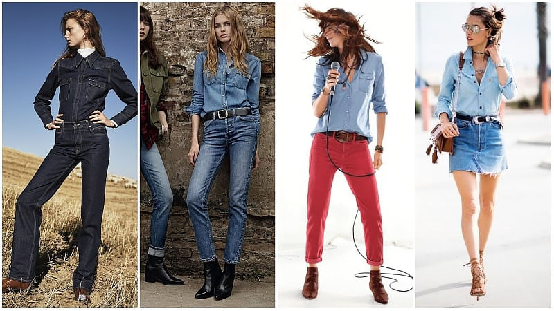 Denim Outfit Styles For Women's 51