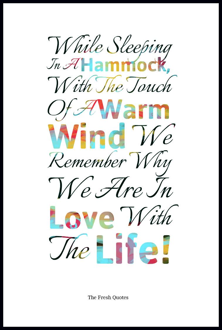 Hammock Quotes