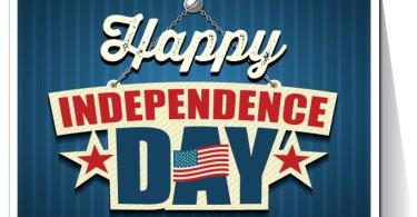 Happy Indepenence Day America 4th Of July Greetings Card Image