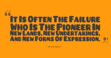 Pioneer Quotes