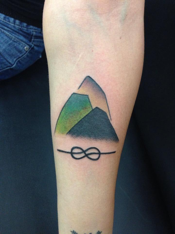 Rock Climbing Tattoos