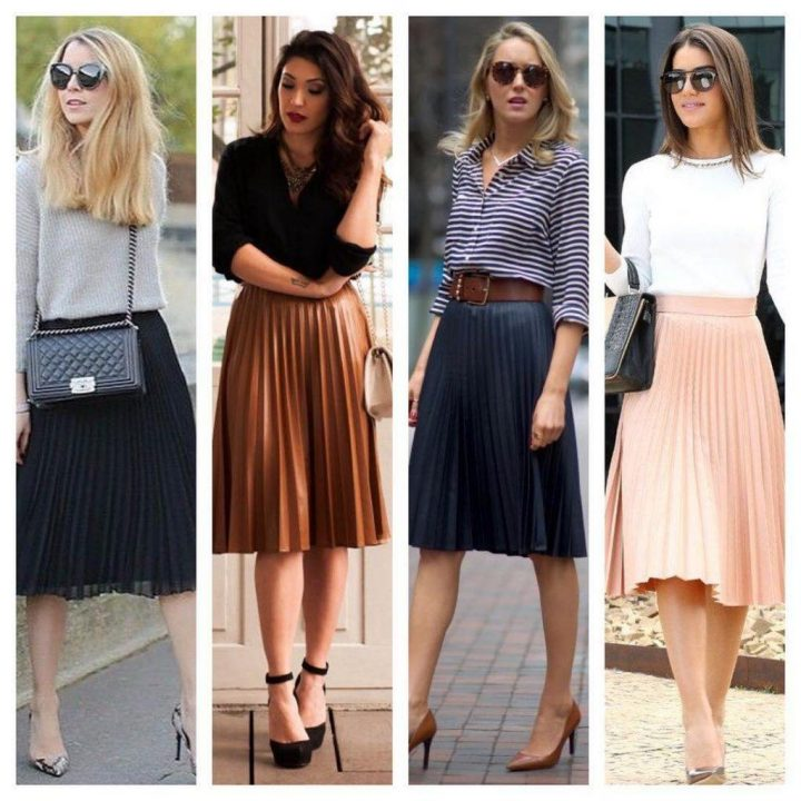 Skirt Outfits Styles For Cute Girls 20