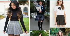 Skirt Outfits Styles For Cute Girls 25