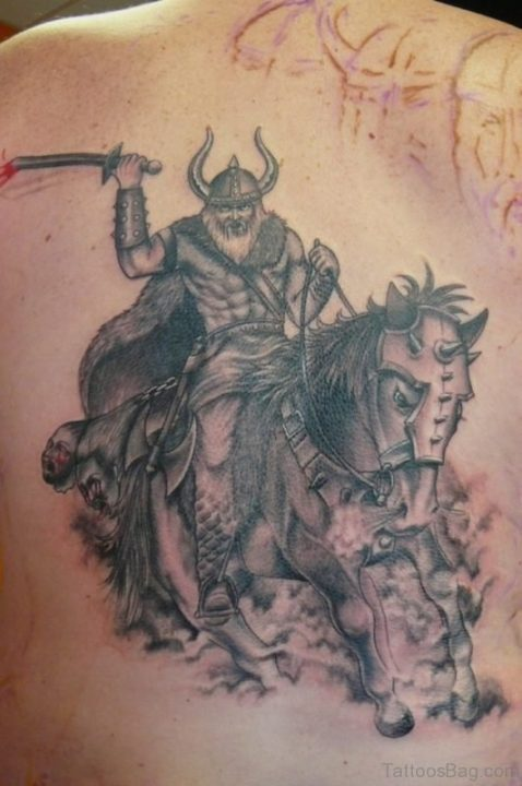 Alluring Back Tattoos For Boy's And Girls 07
