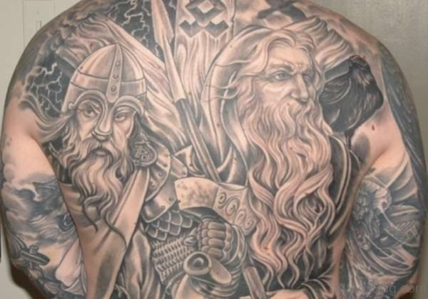 Alluring Back Tattoos For Boy's And Girls 11