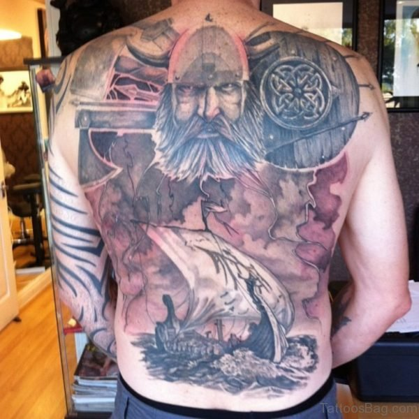 Alluring Back Tattoos For Boy's And Girls 13